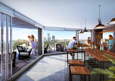 Skybar en piso 27